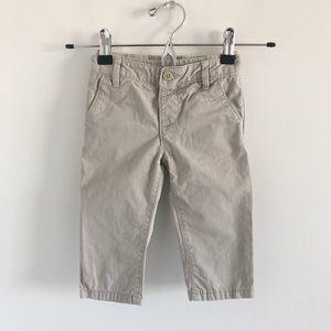 Baby Gap 100% Cotton Khaki Pants 12-18m